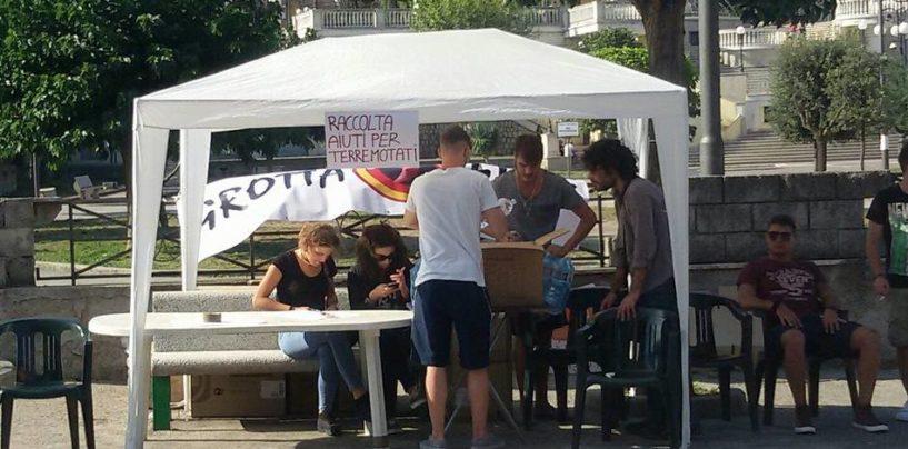 FOTO/ Terremoto, ad Avellino si attivano i punti raccolta per i beni di prima necessità