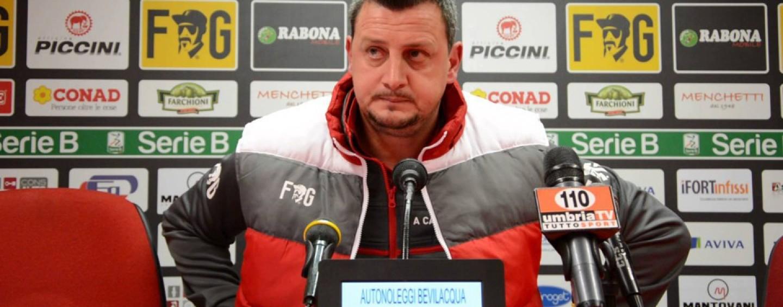"""Perugia, Camplone avverte i suoi: """"Non cadiamo nelle provocazioni"""""""