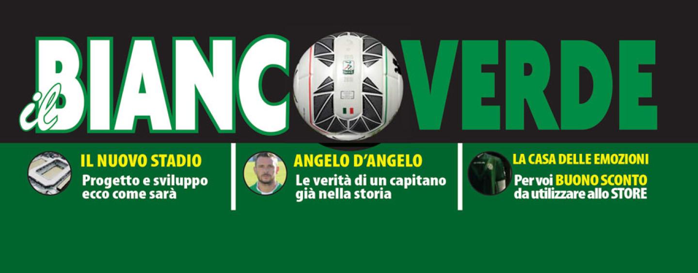 """Da oggi in edicola """"Il Biancoverde"""", 48 pagine a colori sull'Avellino Calcio."""