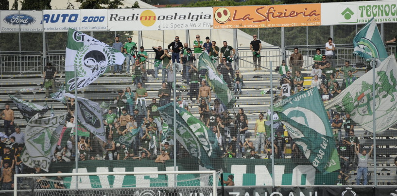 Spezia-Avellino, prevendita: il dato definitivo del settore ospiti