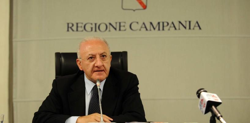 Caso De Luca, blitz della Guardia di Finanza in Regione