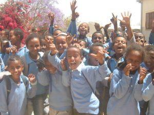 I sorrisi dei Bambini dell' Eritrea
