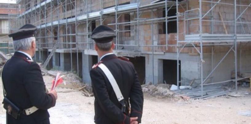 Montoro, controlli sui cantieri edili: denunciati 3 imprenditori