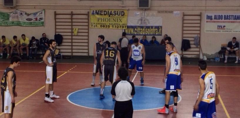 Basket D: Cab Solofra battuta dalla Virtus Pontecagnano per 75-74