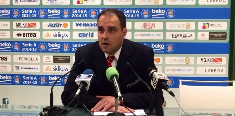 """Basket, Moretti (Pistoia): """"Abbiamo subito due triple a tempo scaduto"""""""