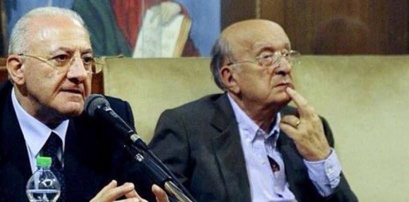 """Regionali, De Luca: """"Con De Mita anni di polemiche"""""""