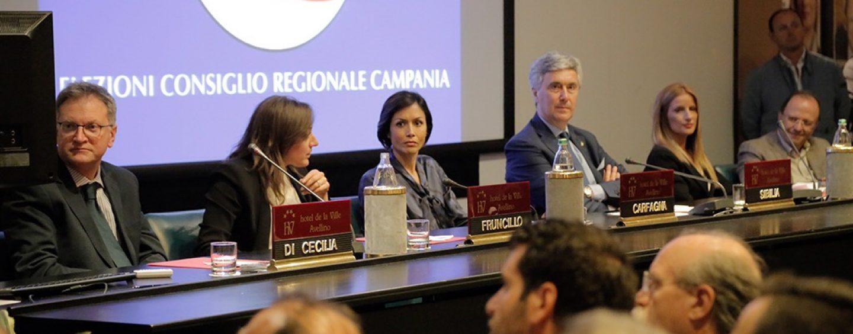 Forza Italia, l'ex ministra Carfagna chiude la campagna elettorale di Grasso ad Ariano