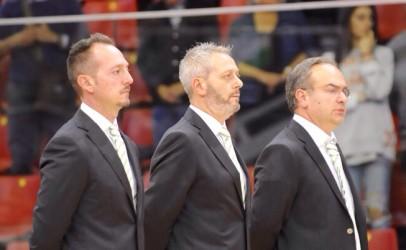 """FOTO/ Basket Avellino, Sacripanti: """"Doppiamente felici per la vittoria all'esordio"""""""