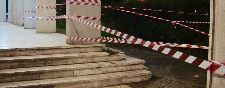 FOTO/ Avellino, sopralluogo dei vigili del fuoco al Tribunale