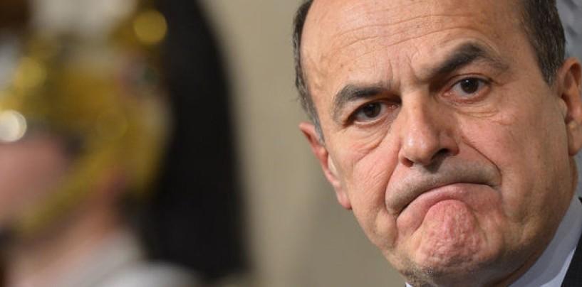 "Pd, Bersani: ""Renzi governa con i miei voti"""