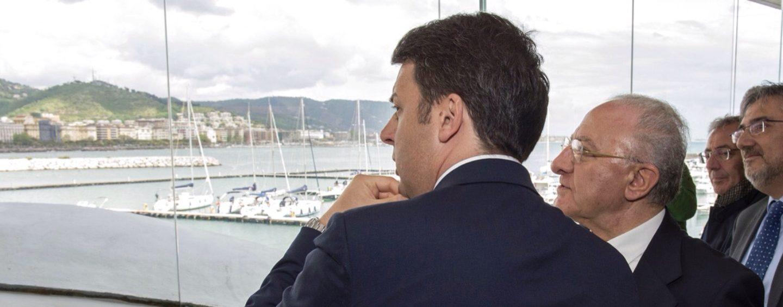 Renzi in tour a Napoli e Salerno, si rinsalda patto con De Luca