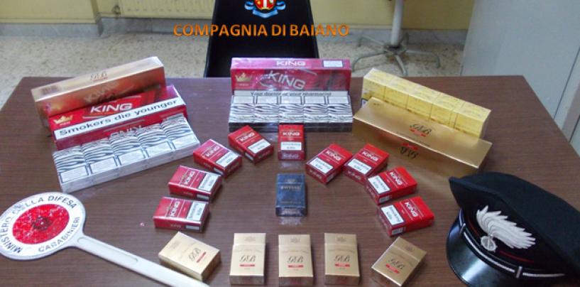 Baiano – Contrabbando di sigarette: consistente sequestro dei Carabinieri