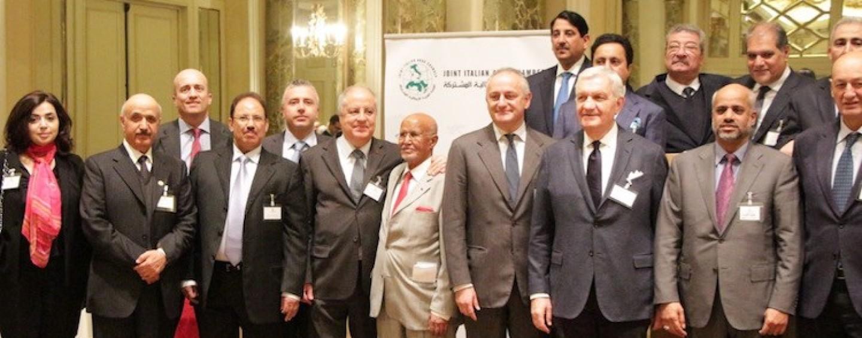Confimprenditori, Santoli alla presentazione della Joint Italian Arab Chamber