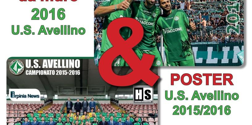 Avellino Calcio – Il calendario ufficiale 2016 in vendita nelle edicole e allo store