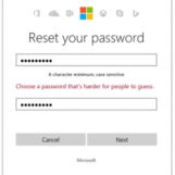 """Microsoft dice stop alle password """"banali"""": il sistema chiederà di reimpostarle"""