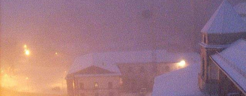 Torna la neve in Irpinia, ecco come si presenta Montevergine