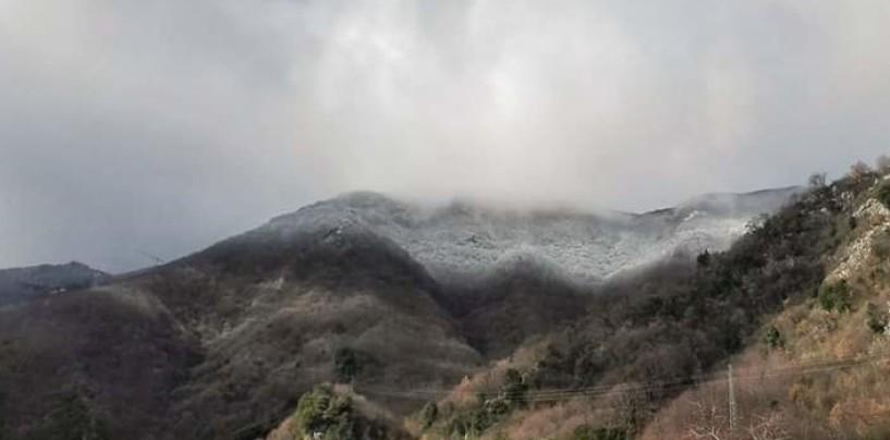Meteo Avellino: brusco calo termico, torna la neve ad alta quota