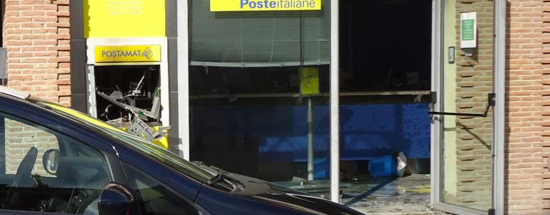Assalto all'ufficio postale di Mercogliano, banditi fanno esplodere il bancomat