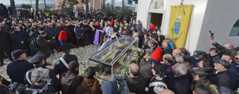 Padre Pio a Pietrelcina, il programma di oggi venerdì 12