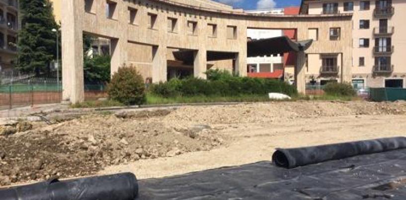 Riqualificazione piazza Castello, approvato progetto stralcio per la viabilità