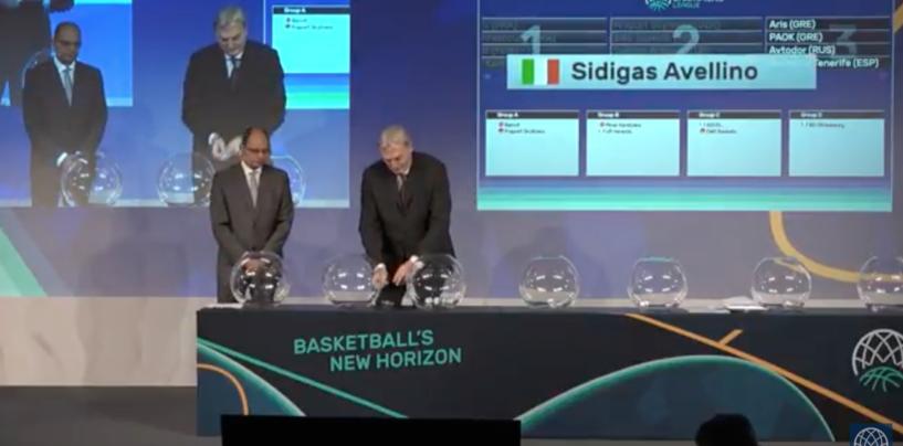 Basket Champions League, la Sidigas Avellino ritrova in Europa il Cibona e l'ex Cenk Akyol