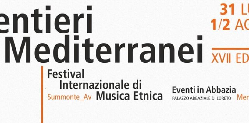 Summonte si prepara per il Festival Internazionale di Musica Etnica Sentieri Mediterranei