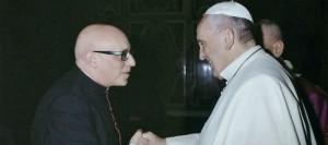 Sergio Melillo e Papa Francesco