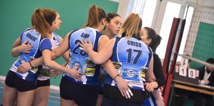 Volley, il freddo non ferma il The Marcello's: battuto 3 a 0 l'ASD Primavera