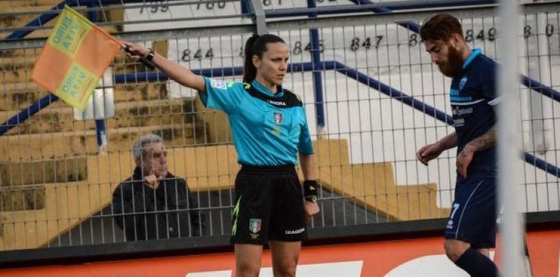 Benevento-Ischia, designata la sexy guardalinee Veronica Vettorel