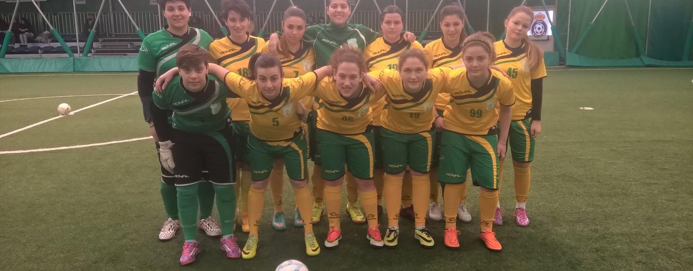 Calcio a5 femminile: pareggio pirotecnico tra Calvi e Irpinia Sport