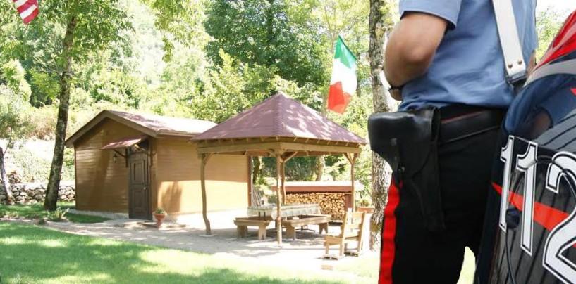 Monteverde, i carabinieri denunciano sei persone per aver violato in materia edilizia durante la realizzazione di un agriturismo