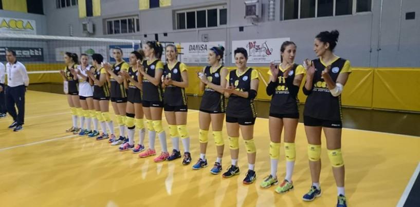 Volley – Terza vittoria consecutiva per l'Acca Montella, battuta Terracina