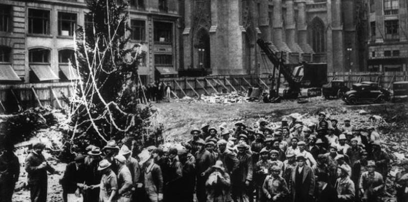 Le storie degli emigranti di Avellino dietro il primo albero di Natale al Rockefeller Center di New York
