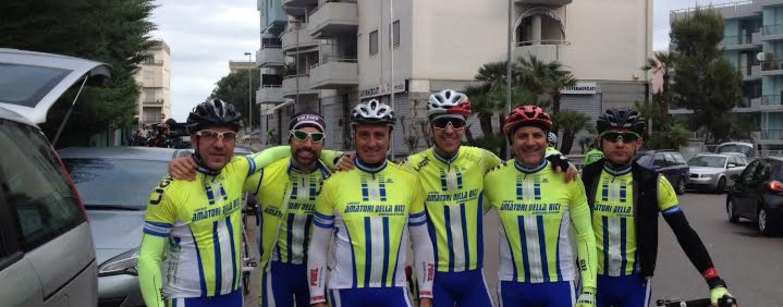 Gli Amatori della bici tra intemperie ed imprevisti a Canosa di Puglia