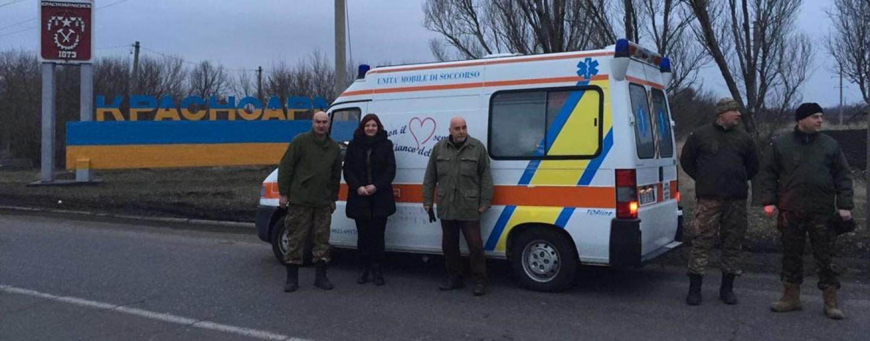 La Misericordia di Summonte dona ambulanza al popolo ucraino