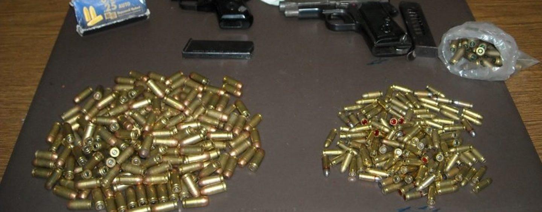 Armi e munizioni nascoste in casa: arrestato 33enne di Grottaminarda