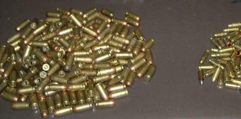 Detiene illegalmente munizioni calibro 12: denunciato