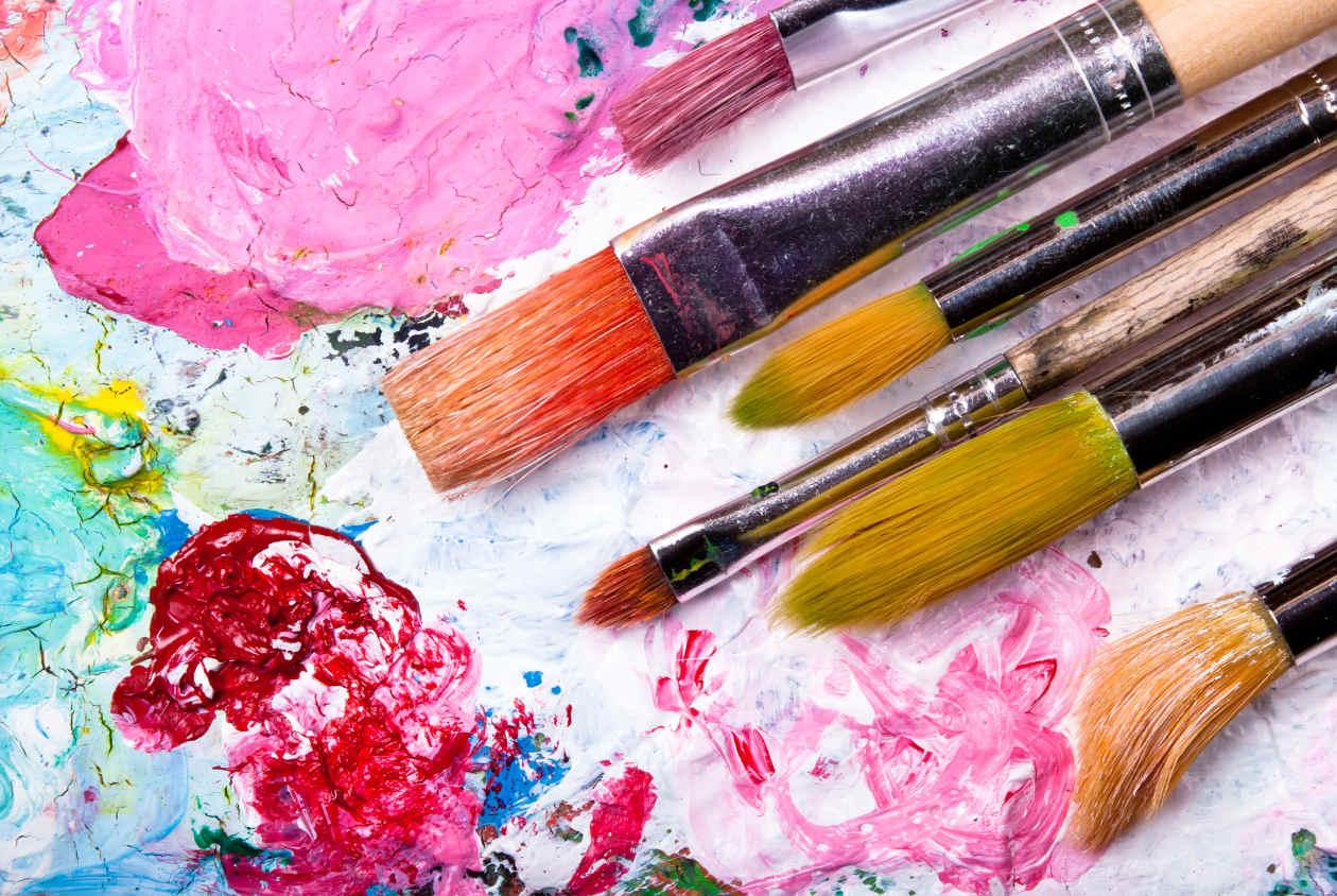 Serino grande successo per pasqua in arte for Peindre sur de la peinture