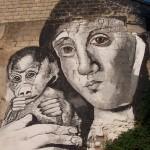 La Madonna del mandrillo, Carlos Atoche - Viale Italia