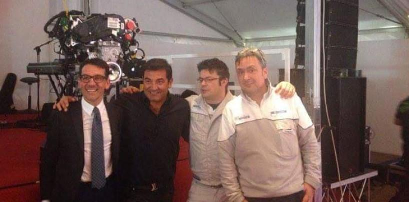 Ex Fma, Max Giusti a Pratola Serra per il nuovo motore Alfa