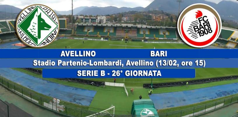 Avellino – Bari, le probabili formazioni: Tesser ritrova Paghera in mediana