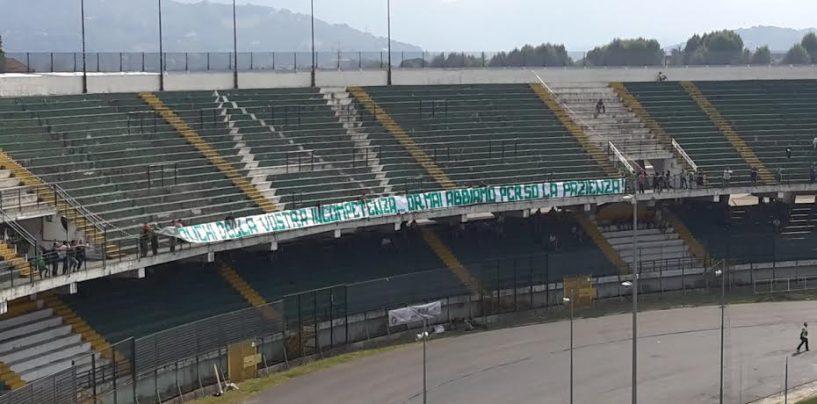 Avellino-Cavese, la Curva Sud si mobilita: è il giorno della protesta