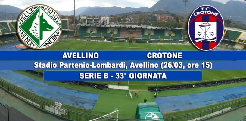 Avellino-Crotone, le probabili formazioni: Marcolin sulla scia di Tesser