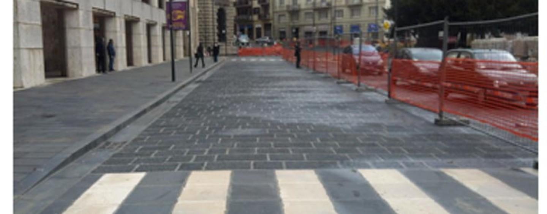 Avellino, piazza Libertà: da domani riapre il tratto sotto Palazzo Ercolino