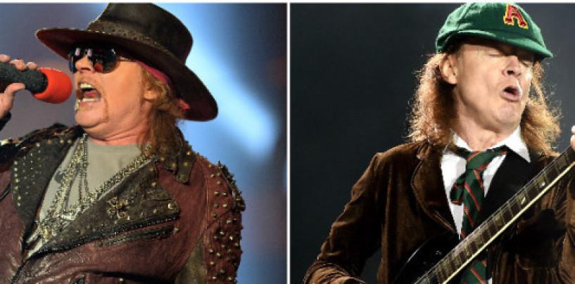 Axl Rose nuovo frontman degli AC/DC? Prepariamo il funerale dell'hard rock