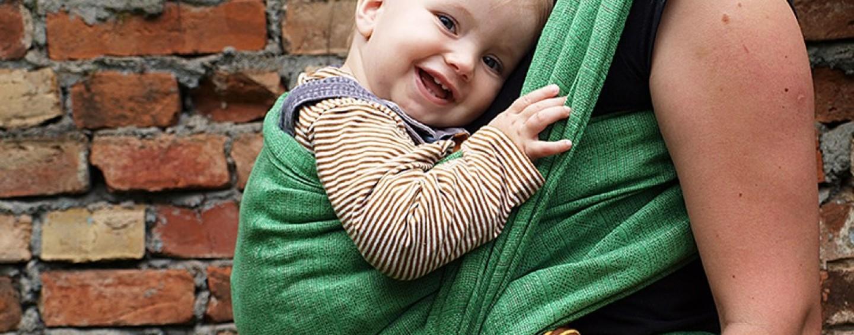 carino economico rivenditore sporco alta moda Anche in Italia è Babywearing mania: fasce e marsupi per ...