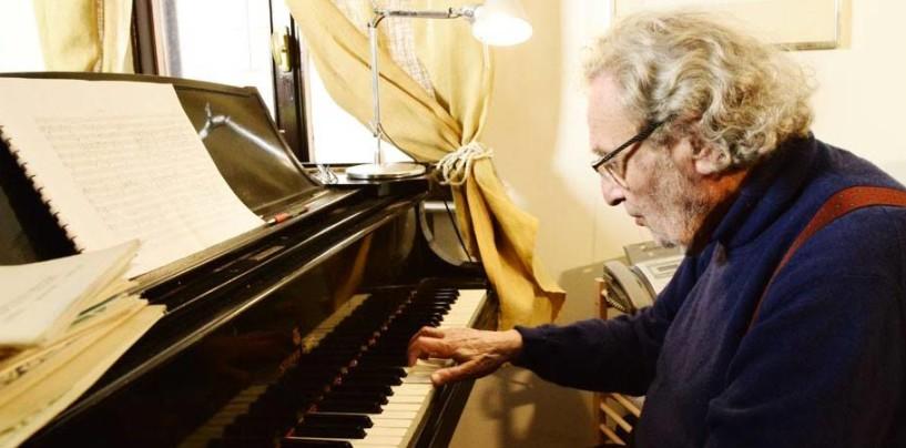 Addio al maestro Luis Bacalov: l'ultima volta in Irpinia nel 2015