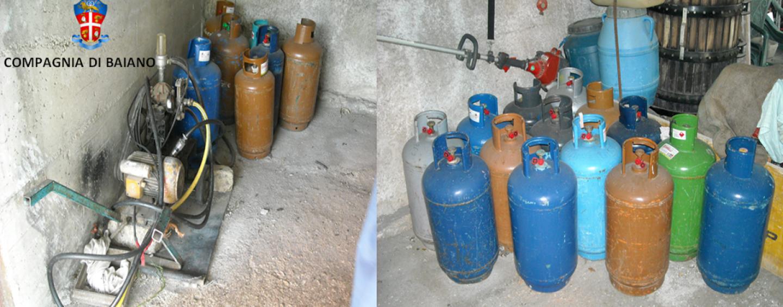 Avella – Detenzione e commercio illegale di gas: denunciato un pregiudicato
