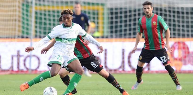 Avellino Calcio – Ribalta internazionale: Bastien in vetrina nella gioielleria Belgio