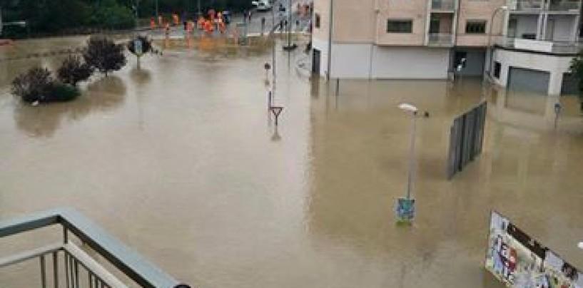 Alluvione Benevento – Non cessa l'allerta, zona industriale in ginocchio. Oggi De Luca in città